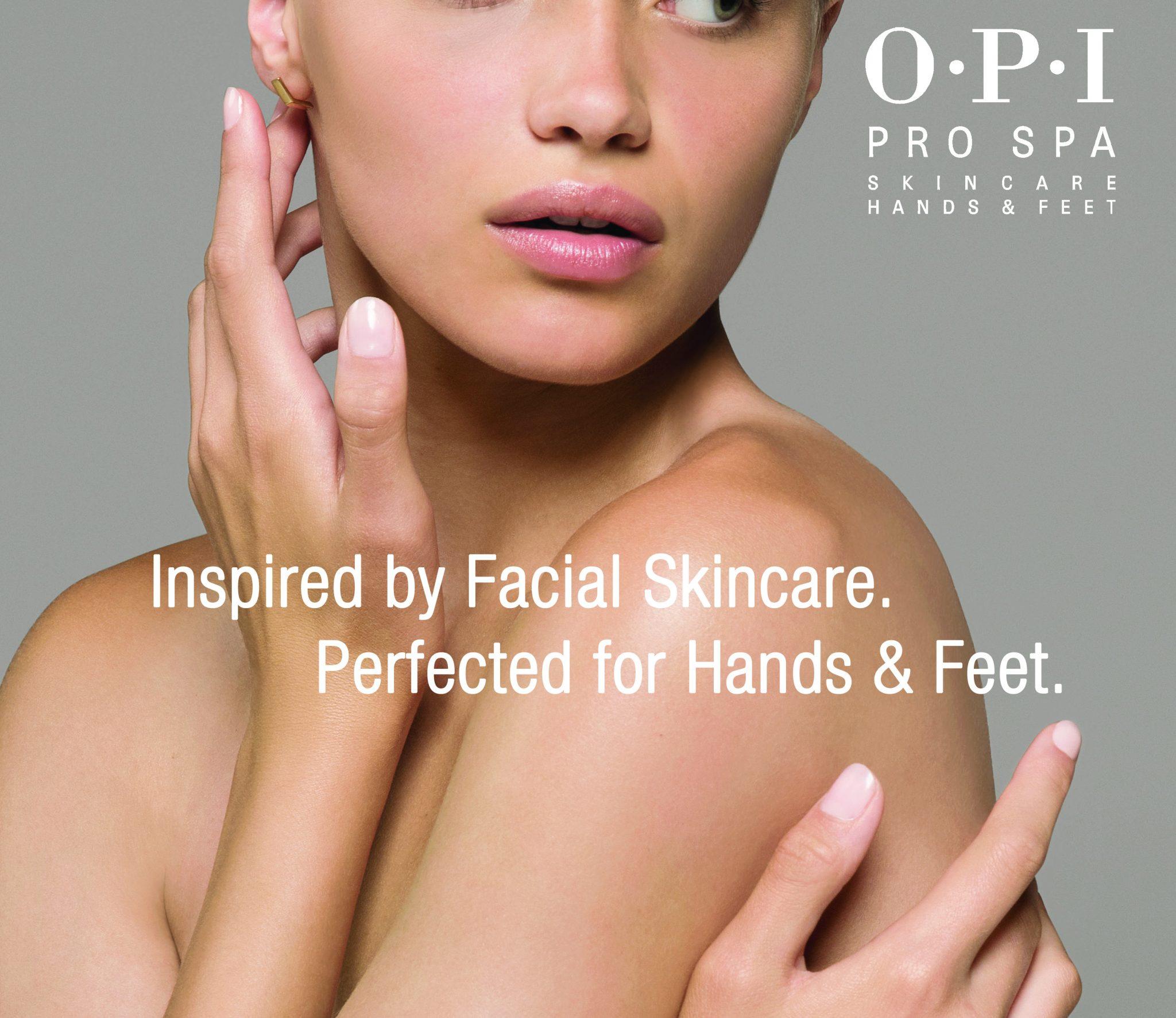 Tijdens de manicure behandelingen werken we met de producten van Pro Spa O.P.I