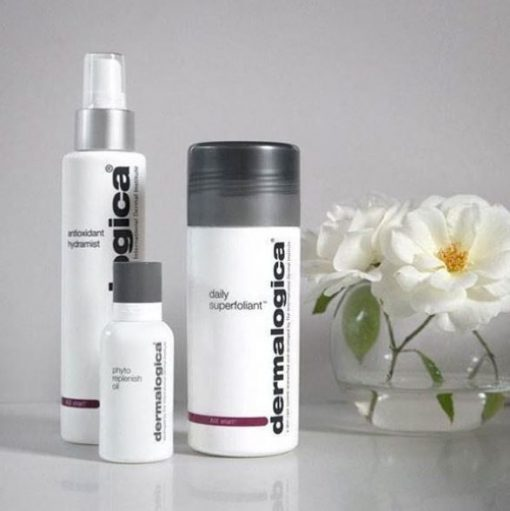 Dermalogica Antioxidant Hydramist, Daily Superfoliant en Phyto Replenish Oil