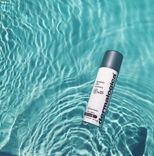 Dermalogica Dynamic Skin Recovery SPF50 in het water