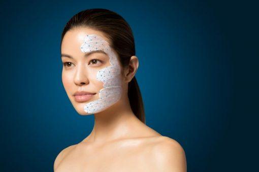 Dermalogica Skin Smoothing Cream aangebracht op gezicht