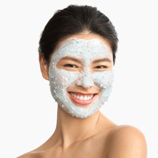 Dermalogica hydro masque exfoliant 2-in-1 hydratatie exfolierend masker op gezicht